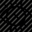 eye, failure, iris, recognition, scan, verification icon