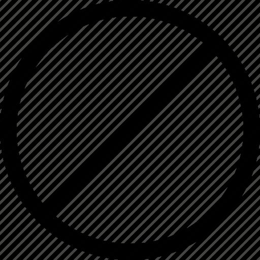 ban, cancel, forbidden, no, stop icon