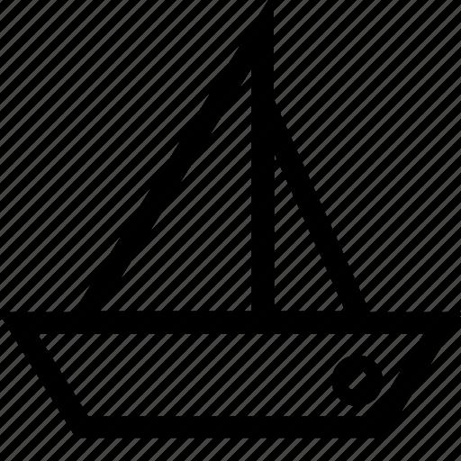 ship, yatch icon