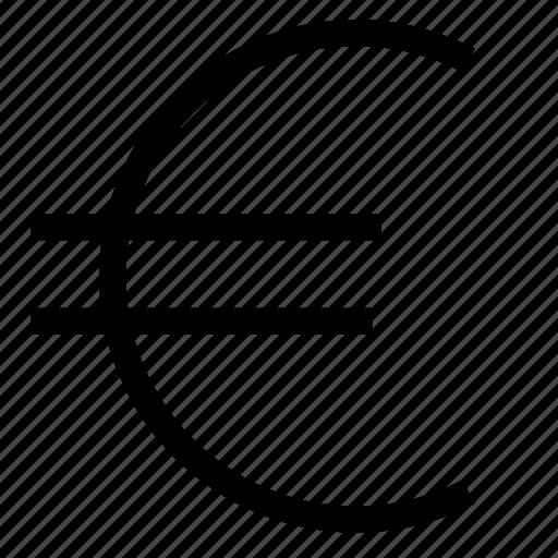 euro, money icon