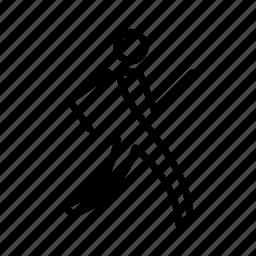minimal, running icon