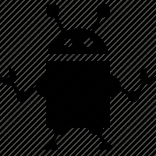 alien robot, career, droid, job, repair, robot, slave, tasks, work, worker icon