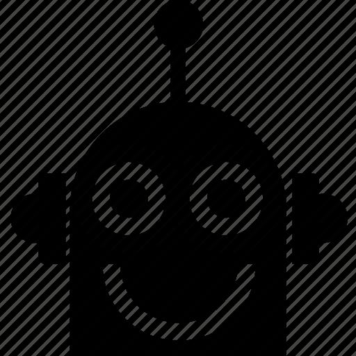 android, automatic, automaton, career, head, job, machine, robot, us robotics, work, worker icon