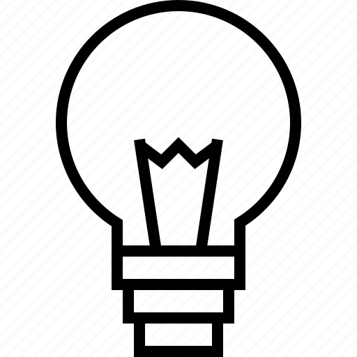 bulb, electricity, idea, lamp, light, lightbulb, power icon