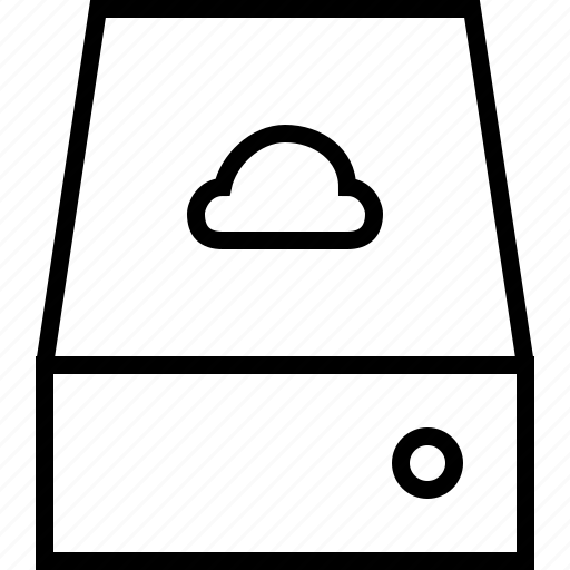 cloud, data, internet, network, server, storage icon