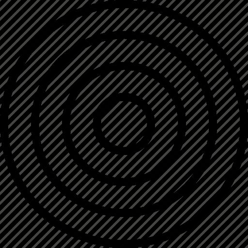 aim, bullseye, goal, navigation, target icon