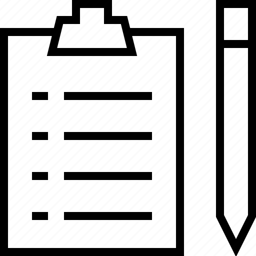 draw, edit, pen, pencil, todolist, write icon