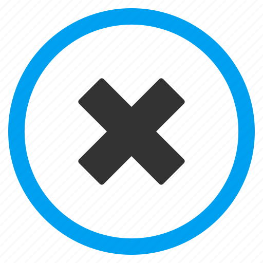 cancel, close, delete, erase, remove, x cross, x-cross icon