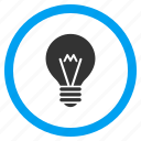 about, electrical lamp, electricity, faq, hint bulb, idea, lightbulb icon