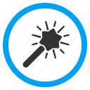 automation, magic, magical wand, magician, mystery, trick, wizard tool icon