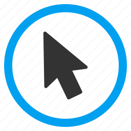 arrow, location, mouse pointer, navigation, point, screen cursor, windows interface icon