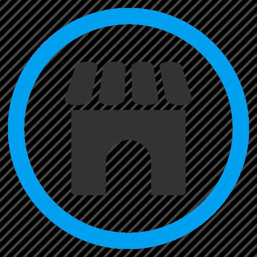 market, sale, shop building, shopping, store, supermarket, trade icon