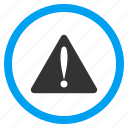 alarm, alert, attention, beware, caution, error, warning icon