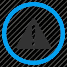 alarm, alert, attention, beware, caution, error, warning icon