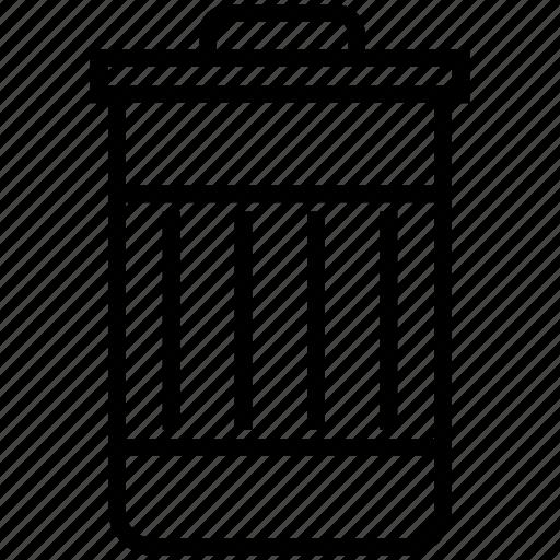 delete, trash icon