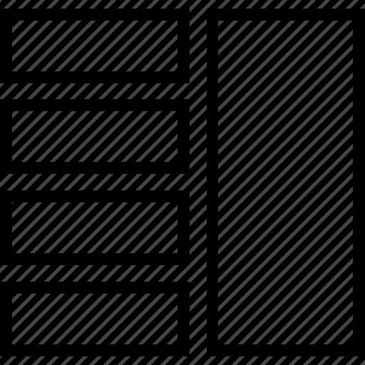 column, grid icon