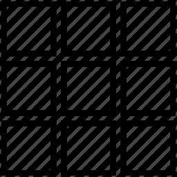 cloumn, grid icon