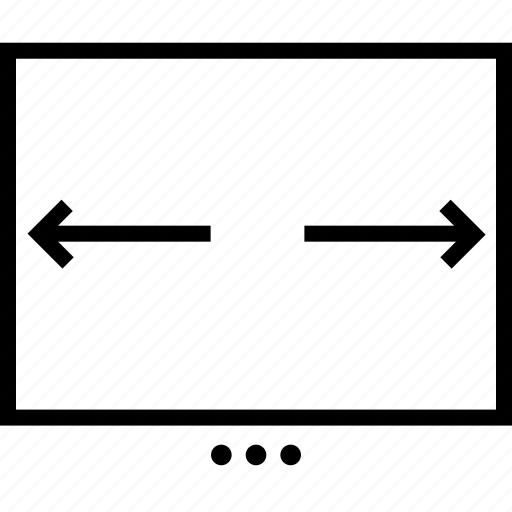 page, slider icon