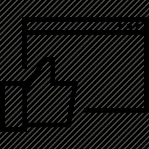 fan, like, page icon