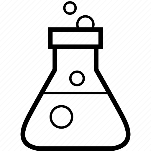 chemistry, lab icon