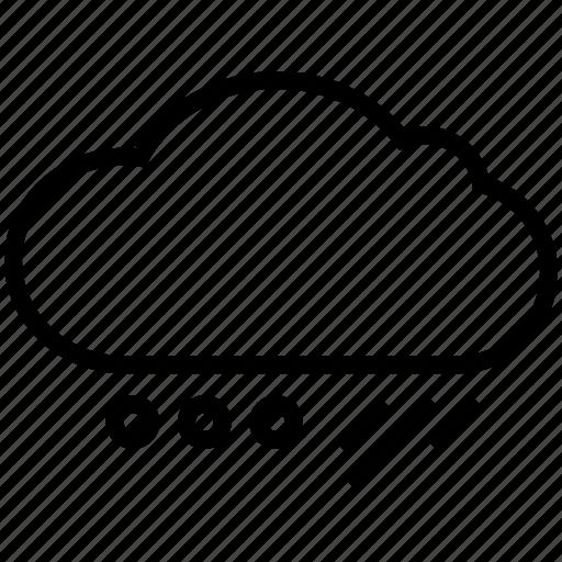 rainy, weather icon