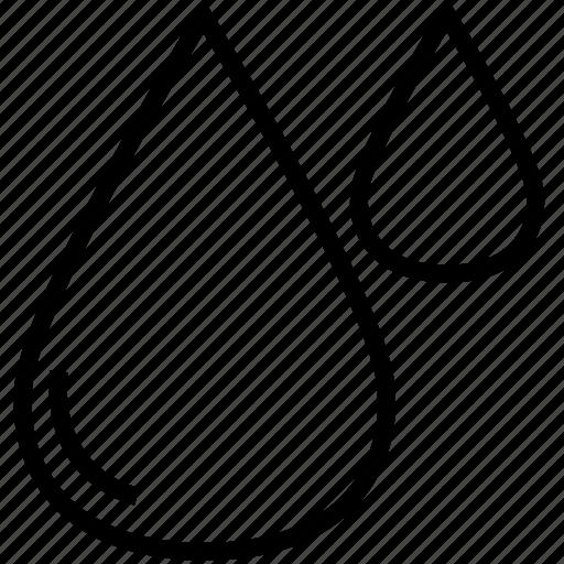 drop, rain icon