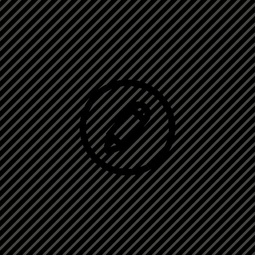 draw, edit, edit profile, pen, pencil, write icon
