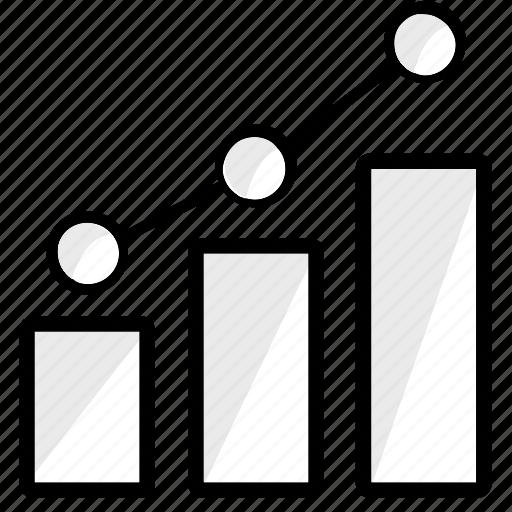 analysis, analytics, diagram, finance, graph, report, statistics icon