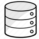 cloud, communication, data, database, driver, internet, storage icon
