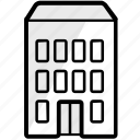building, city, enterprise, home, office, property, work icon