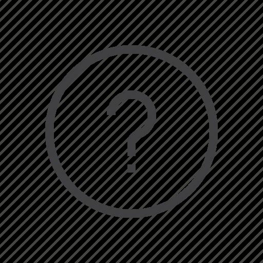 mark, question icon