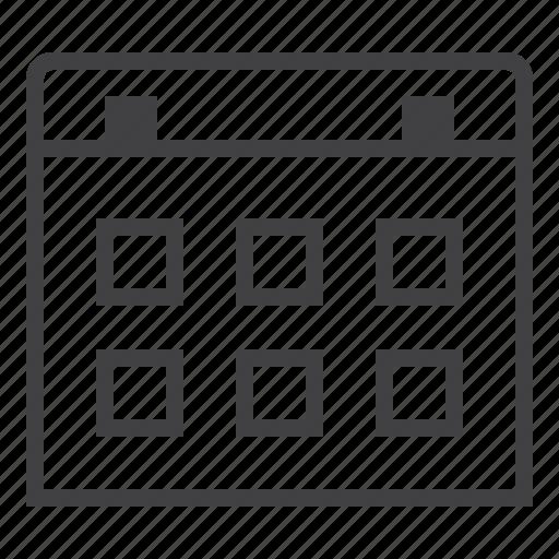 agenda, calendar, date, day, event, month, schedule icon