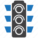 light, signal, traffic icon