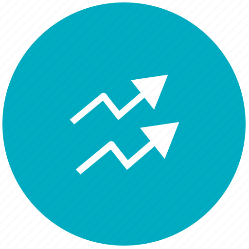 analytics, chart, growth, inflation, infographic, statistics icon