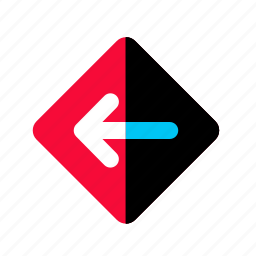 arrow, back, direction, sign, upload icon