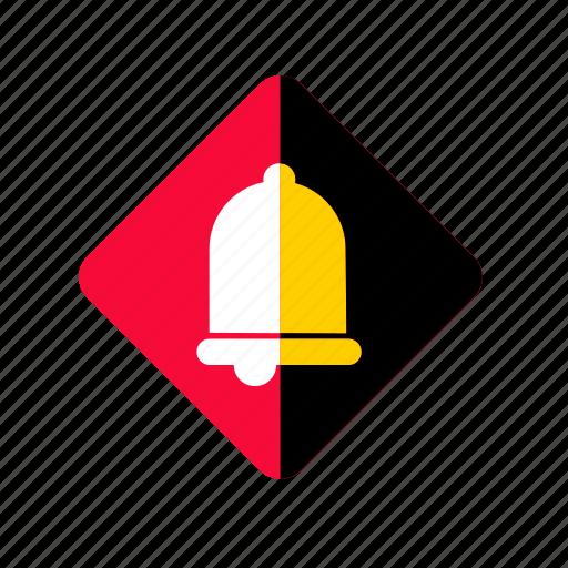 alarm, alert, bell, interface, notification, ring, timer, warning icon