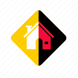 architecture, estate, home, homepage, house, location, mainpage, map, navigation, property, vkontakte icon