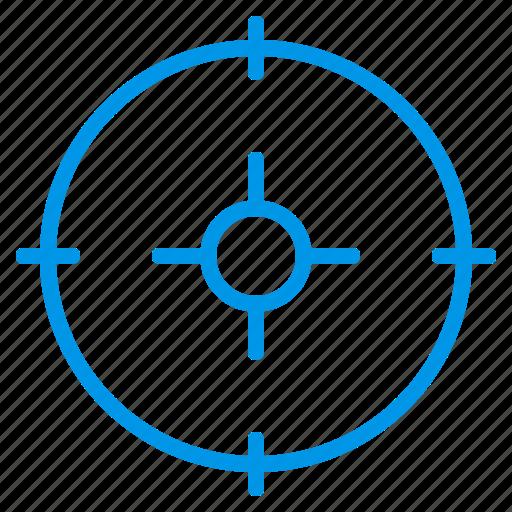 archery, goal, sniper, sniper aim, sniper shot, sport, target icon
