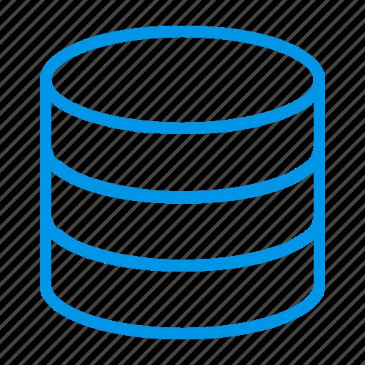 database, database server, server, storage icon