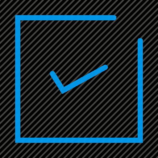 checkbox, checklist, choose, option, select, todo icon