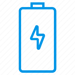 battery level, battery status, charge, charging, low battery, mobile battery icon