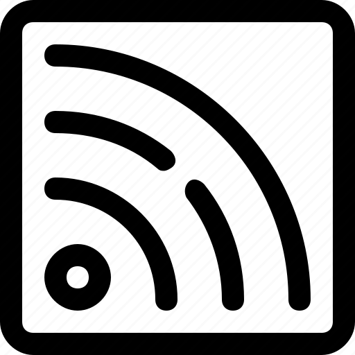 Feed, media, rss, signal icon - Download on Iconfinder