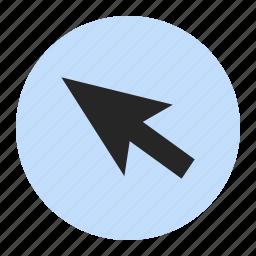 arrow, computer, mousepointer, pointer icon
