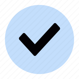 agree, confirm, ok, tick, verified icon