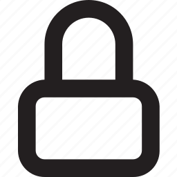 access, lock, locked, password, privacy, protect, secure icon
