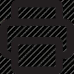 papper, print, printer icon