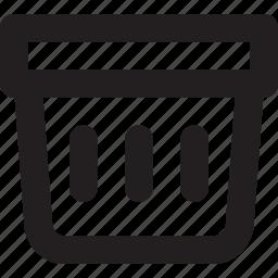 basket, market, shop, shopping basket, store icon