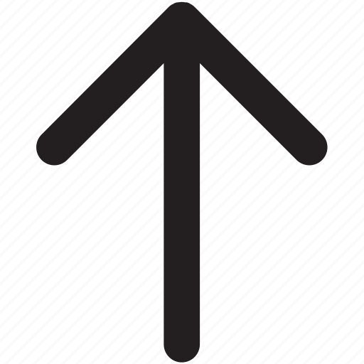 arrow, arrows, direction, navigation, up icon