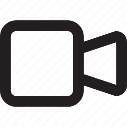 camera, footage, record, video icon