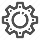 cog, cog wheel, config, settings icon